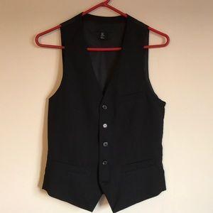 H&M Dark Blue Suit Vest Size 34R